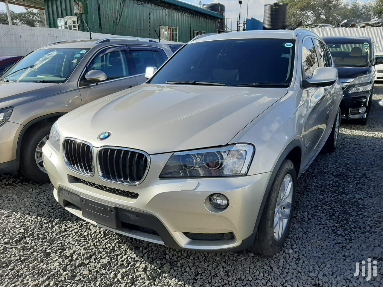 New BMW X3 2012 xDrive20d Beige