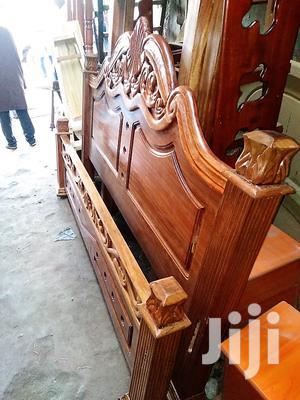 Mahogany Bed 5x6fts Solid-premium Executive Bed