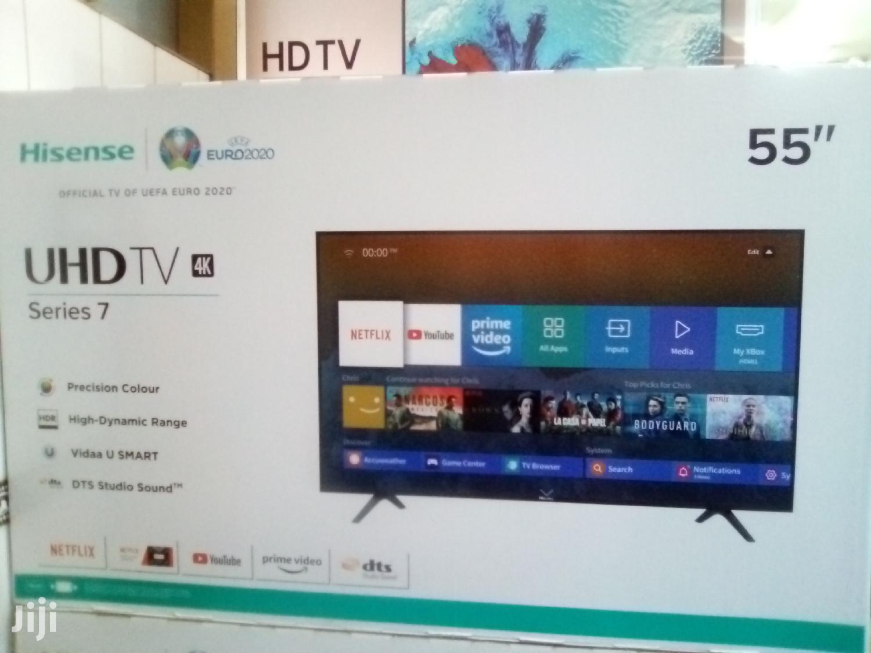 "Hisense 55"" Smart Tv 4k Uhd Series 7"