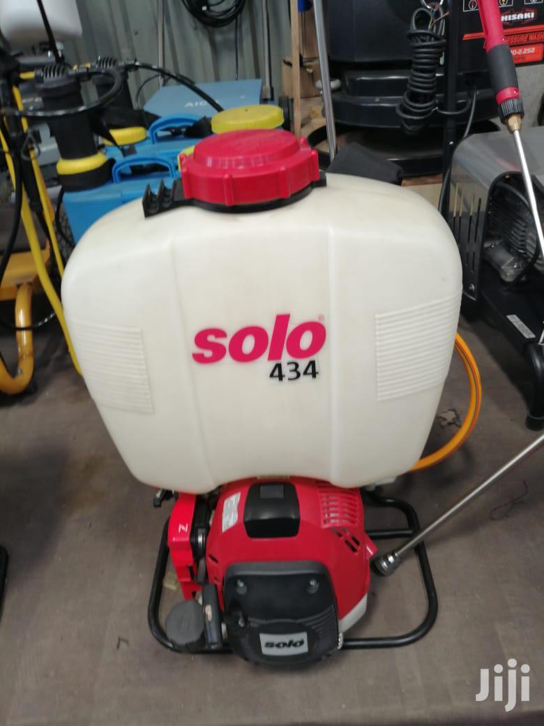 New Solo Engine Sprayer 434