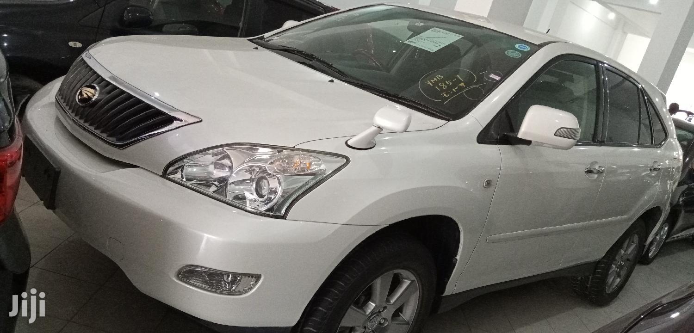 Toyota Harrier 2012 White