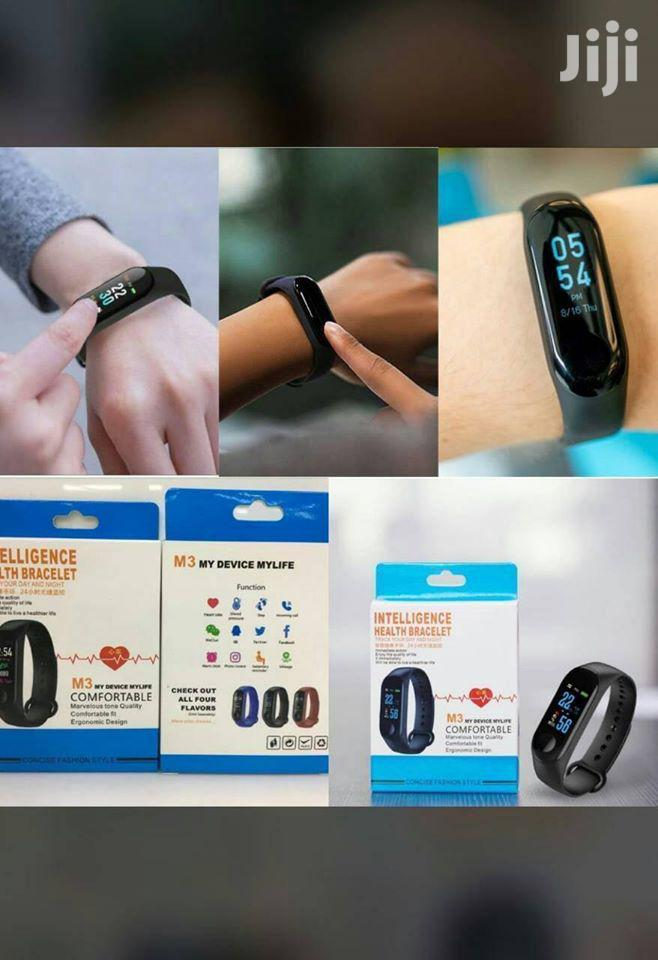 Archive: M4/M3 Plus Smart Watch Heart Rate Monitor Sports Track