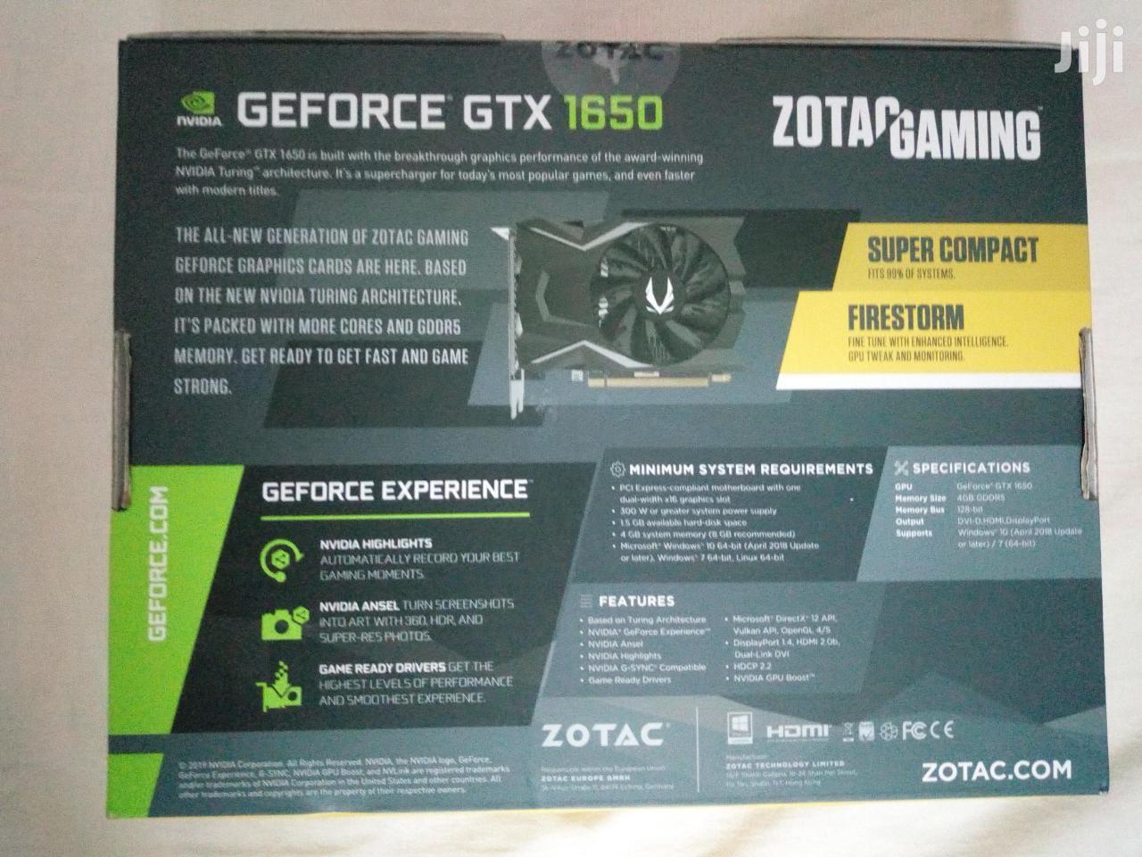 Geforce GTX 1650 Graphics Card For Sale | Computer Hardware for sale in Mombasa CBD, Mombasa, Kenya