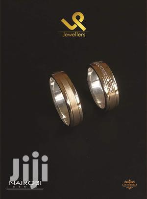 14k Gold and Silver Fusion Custom Made Couples Wedding Rings Bands   Wedding Wear & Accessories for sale in Nairobi, Nairobi Central