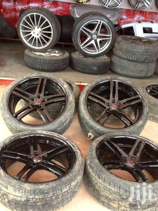 BMW Sport Rims Size 22 With Tyres