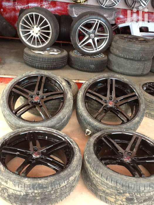 BMW Sport Rims Size 22 With Tyres | Vehicle Parts & Accessories for sale in Langata, Nairobi, Kenya