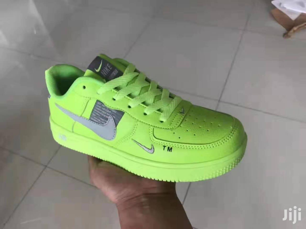 Ladies Nike Air Force Utility Sneakers