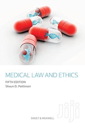 Medical Law and Ethics -Shaun Pattinson   Books & Games for sale in Nairobi, Nairobi Central