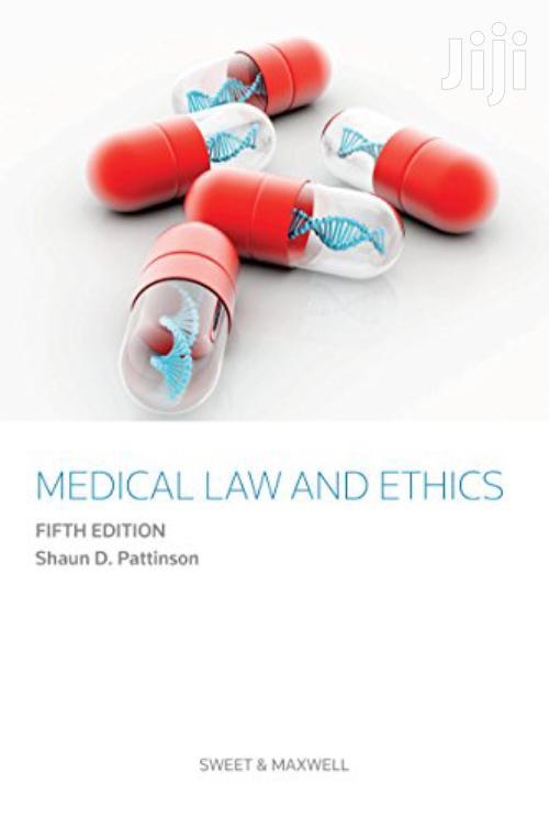 Medical Law and Ethics -Shaun Pattinson