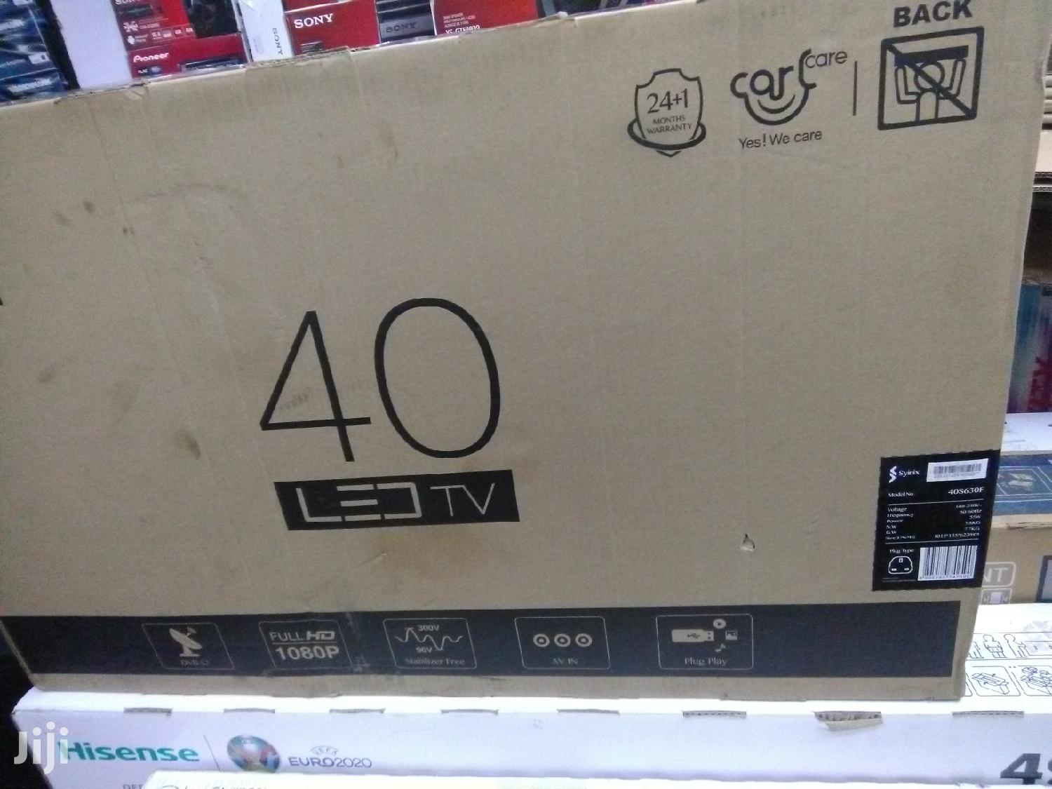 Syinix Tv 40inch Digital Tv | TV & DVD Equipment for sale in Nairobi Central, Nairobi, Kenya