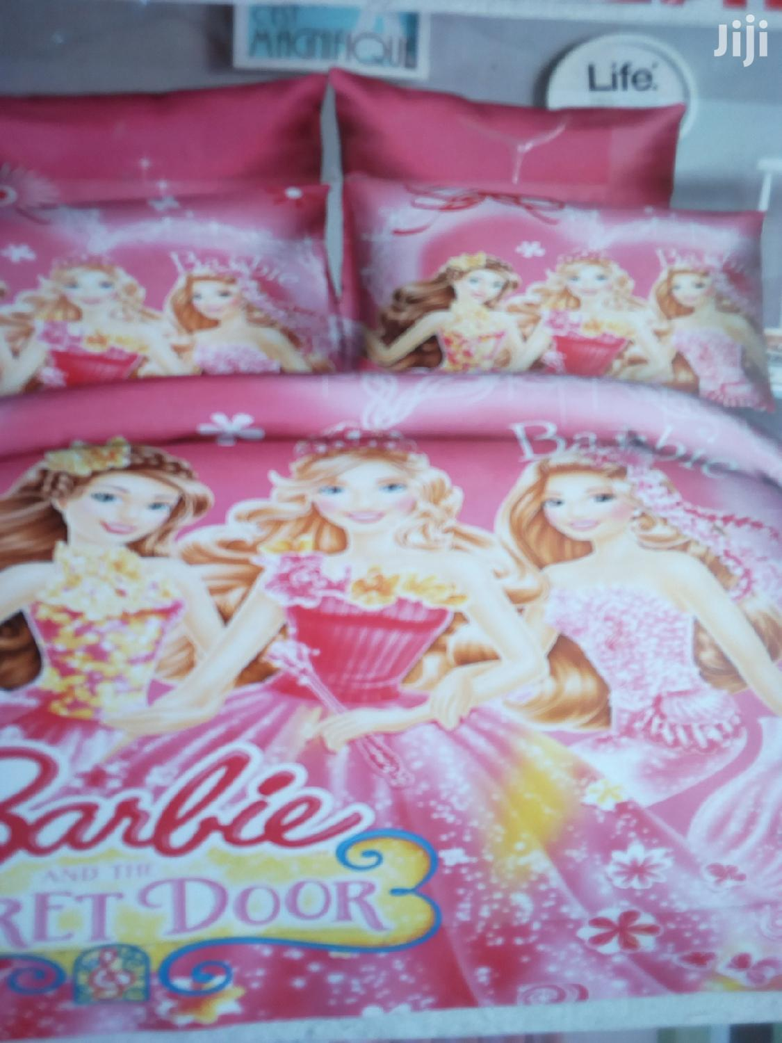 Cartoons Duvets With A Matching Bed Sheet And Two Pillow Cases