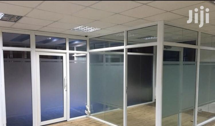 Office And Stalls Partitioning,Aluminum Windows And Doors | Building & Trades Services for sale in Westlands, Nairobi, Kenya