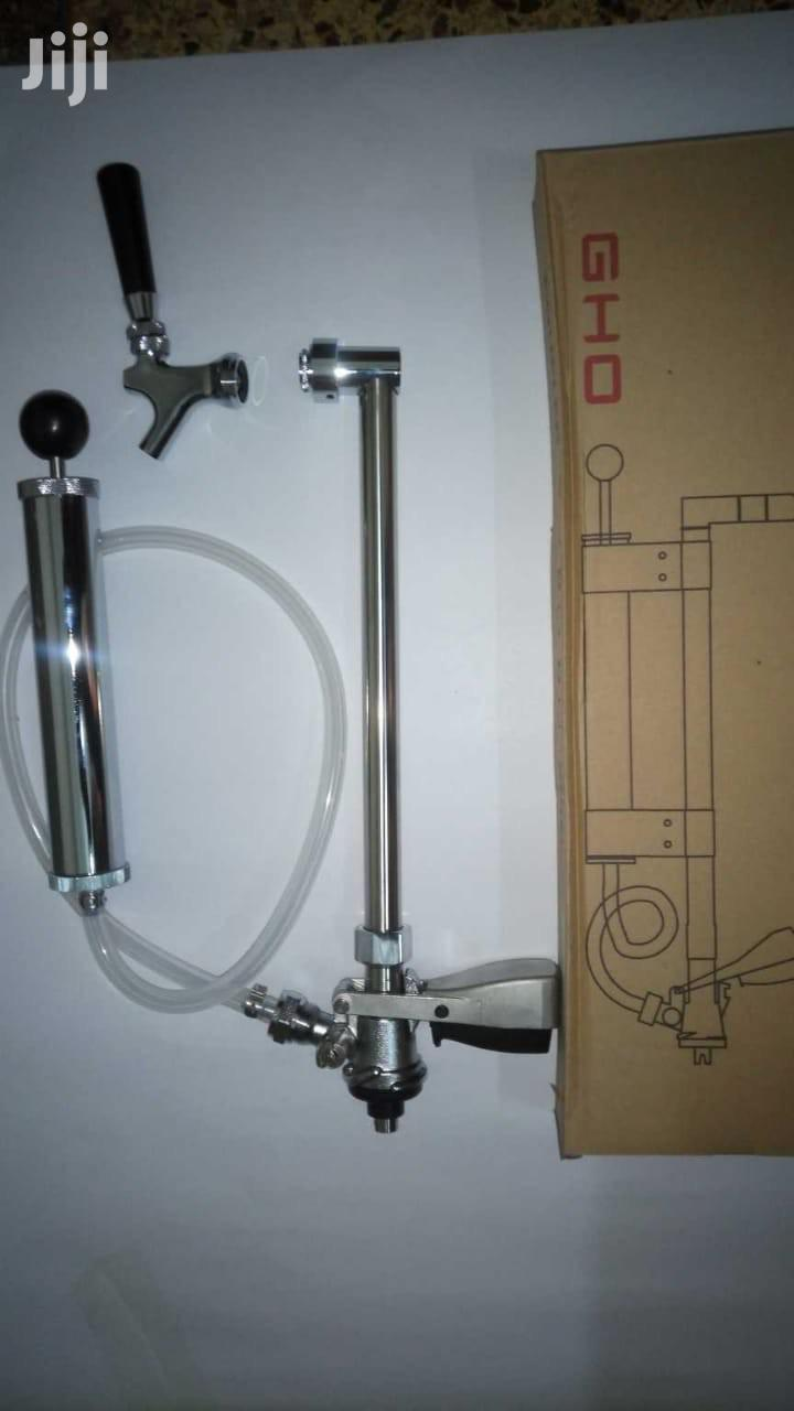 Brand New Keg Pumps. Stainless Steel With Brass Coupler