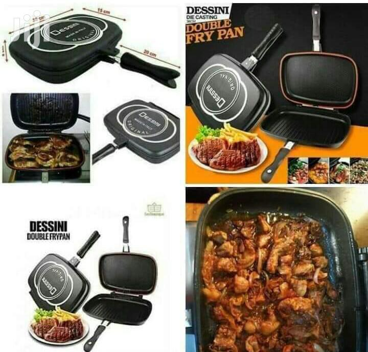 Archive: 36cm Dessini Double Sided Grill Pan