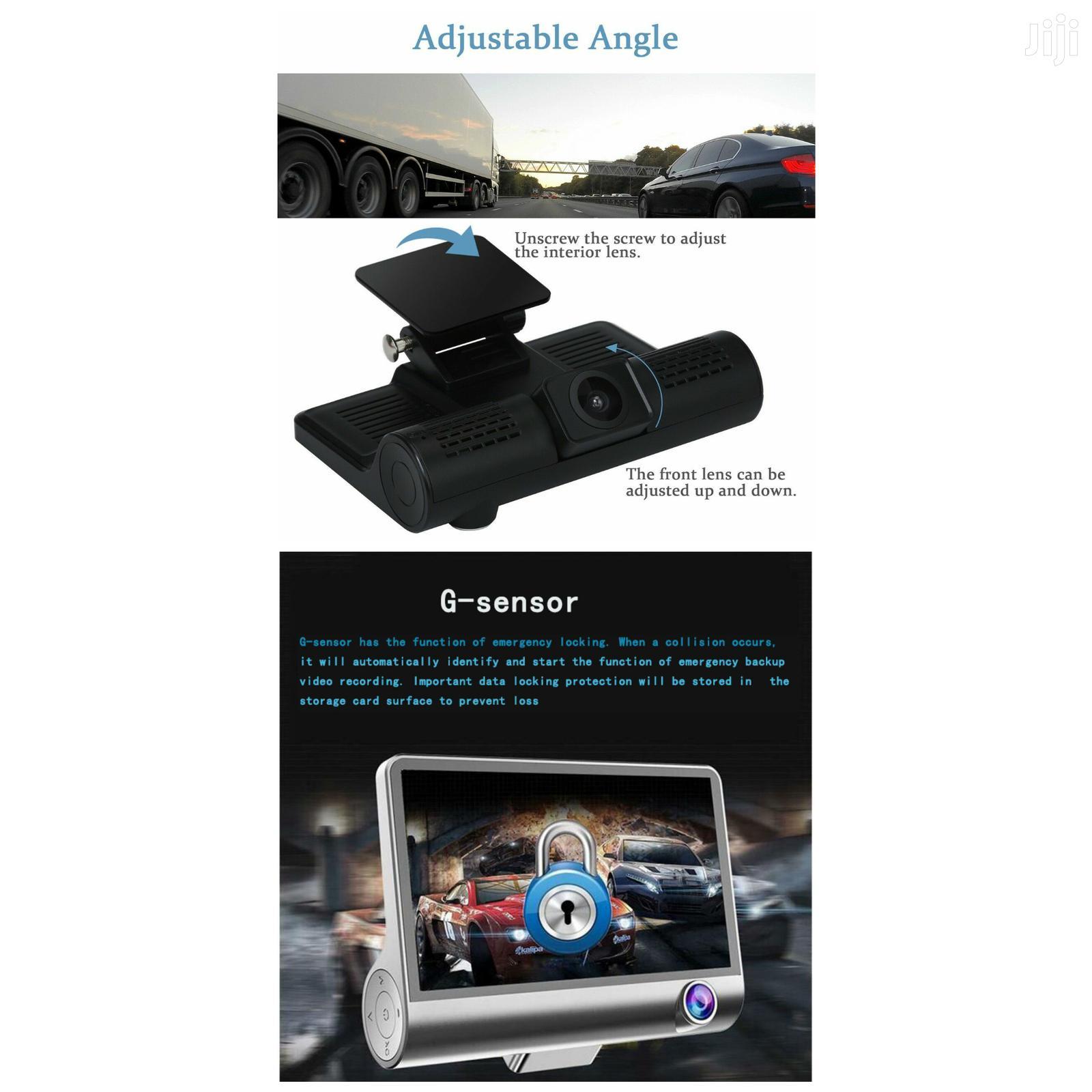 Archive: Car Dvr 3 Camera Lens 4 Inch Video Recorder Dash Cam