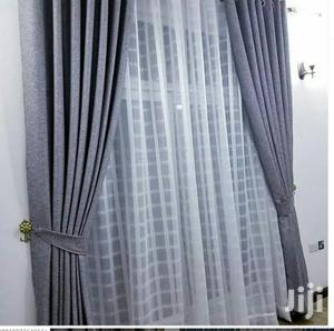 Grey Curtain, Heavy Sheer   Home Accessories for sale in Nairobi, Mbagathi Way