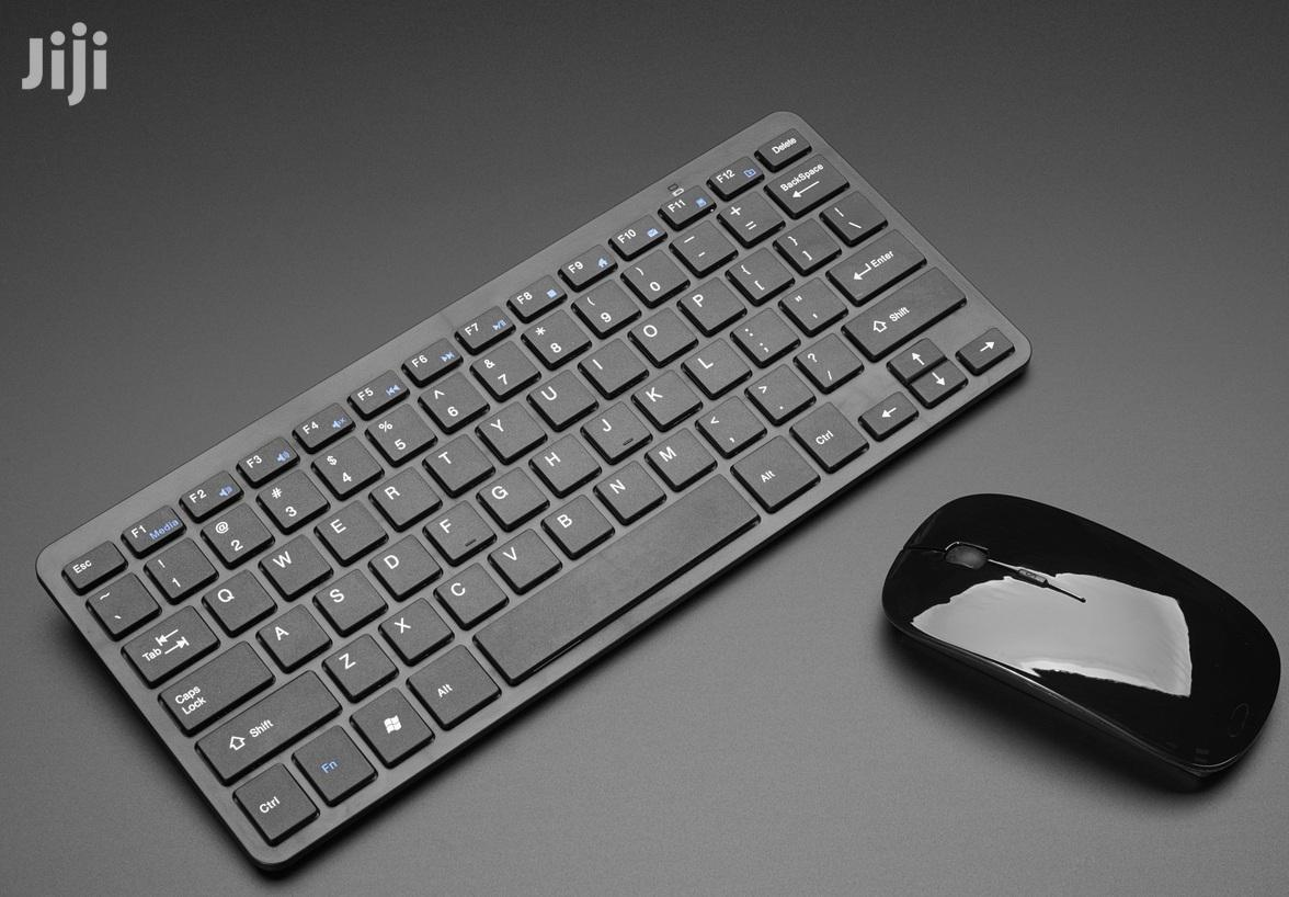 Wireless Mini Keyboard And Mouse Offer