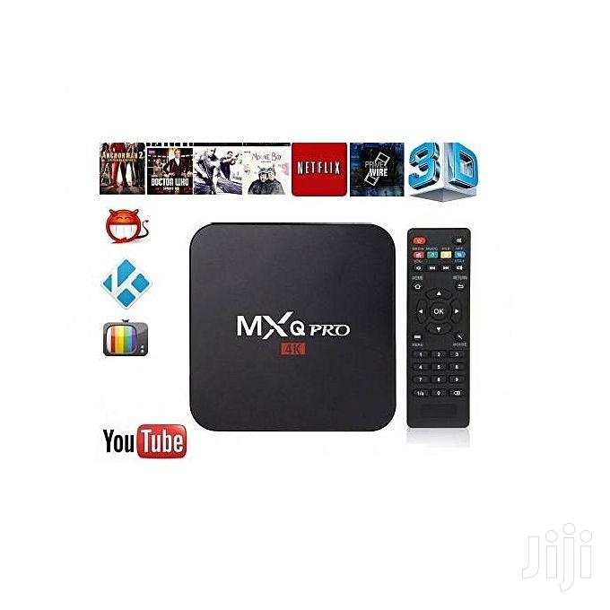 Archive: Mxq Pro 4K Android TV Box 1GB RAM/8GB ROM Wifi/Ethernet
