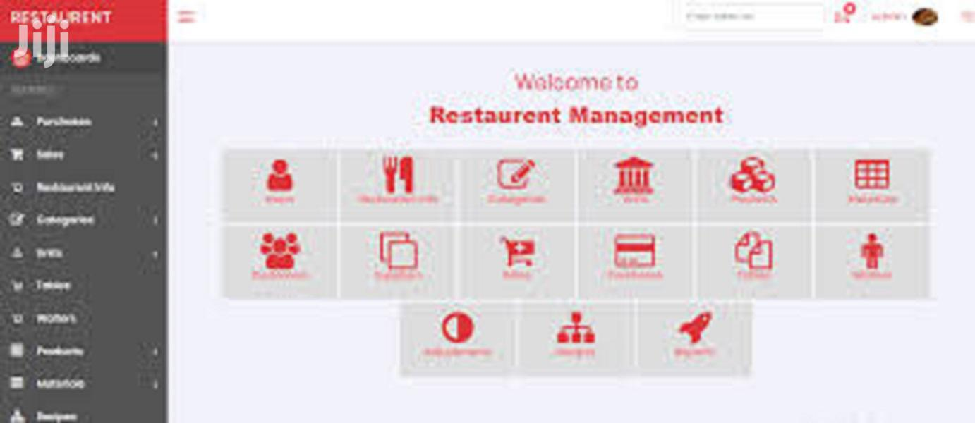 Restaurant Management System, RMS , Point Of Sales, Inventory , POS