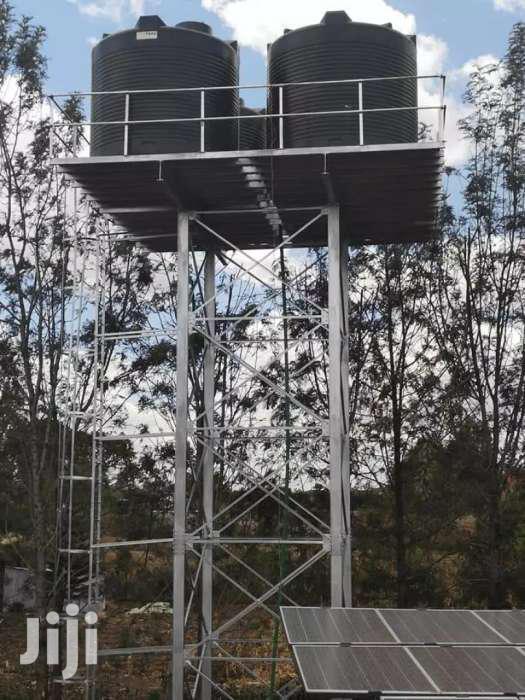 Metal Tank Tower Elevated Tower Steel Tank