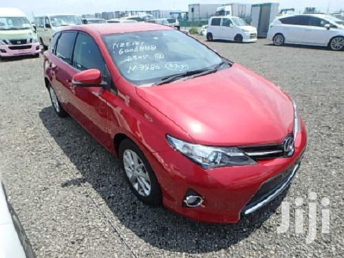 New Toyota Auris 2013 Red   Cars for sale in Parklands/Highridge, Nairobi, Kenya