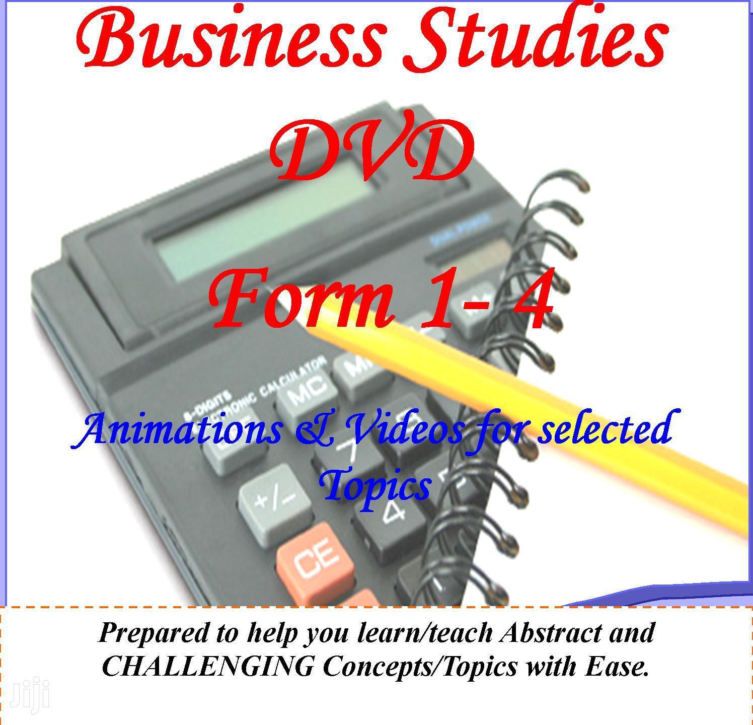 Archive: Business Studies Dvd