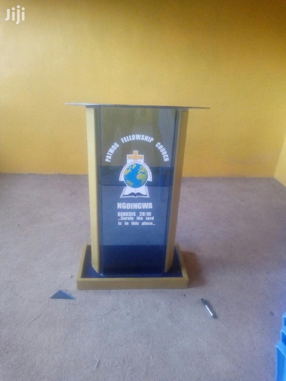 Pulpit/Podium | Furniture for sale in Nairobi Central, Nairobi, Kenya