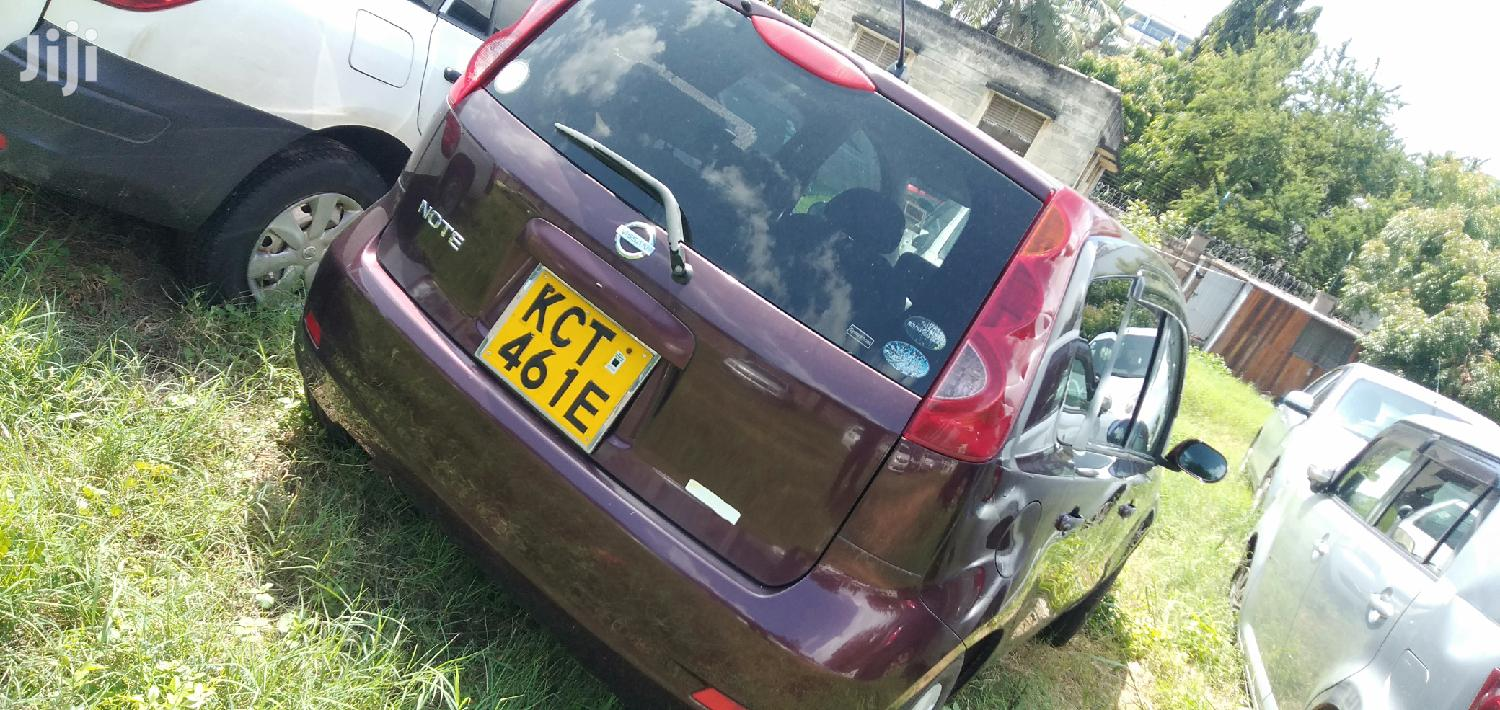 Nissan Note 2011 1.4 Red | Cars for sale in Changamwe, Mombasa, Kenya
