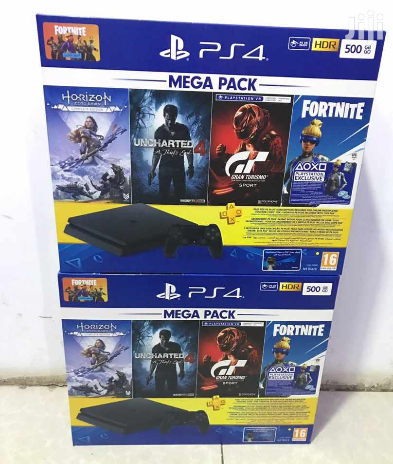 Archive: Sony Playstation 4 Slim Mega Pack Gaming Console 500GB(Black)