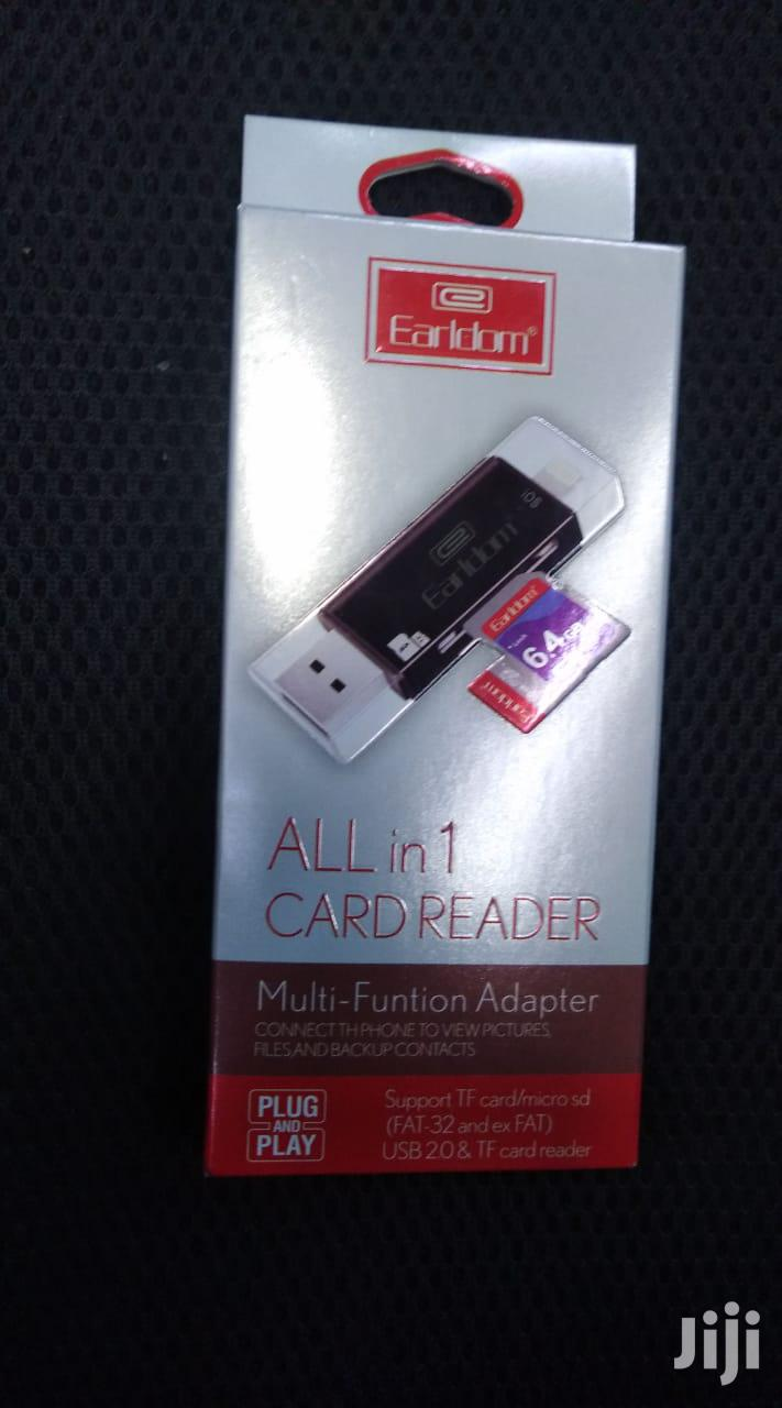 Earldom ET-OT21 3-in-1 8-pin/Micro-usb/USB 3.0 OTG Card Reader | Computer Accessories  for sale in Nairobi Central, Nairobi, Kenya