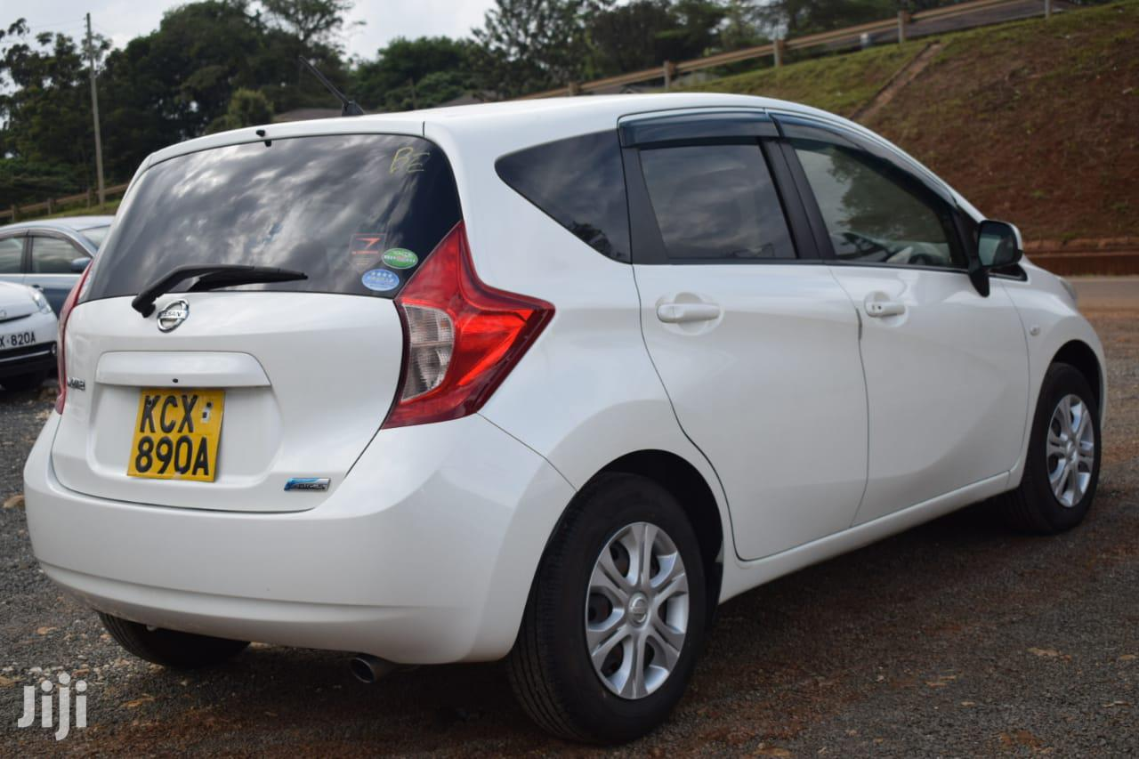 Nissan Note 2012 1.4 White | Cars for sale in Runda, Nairobi, Kenya