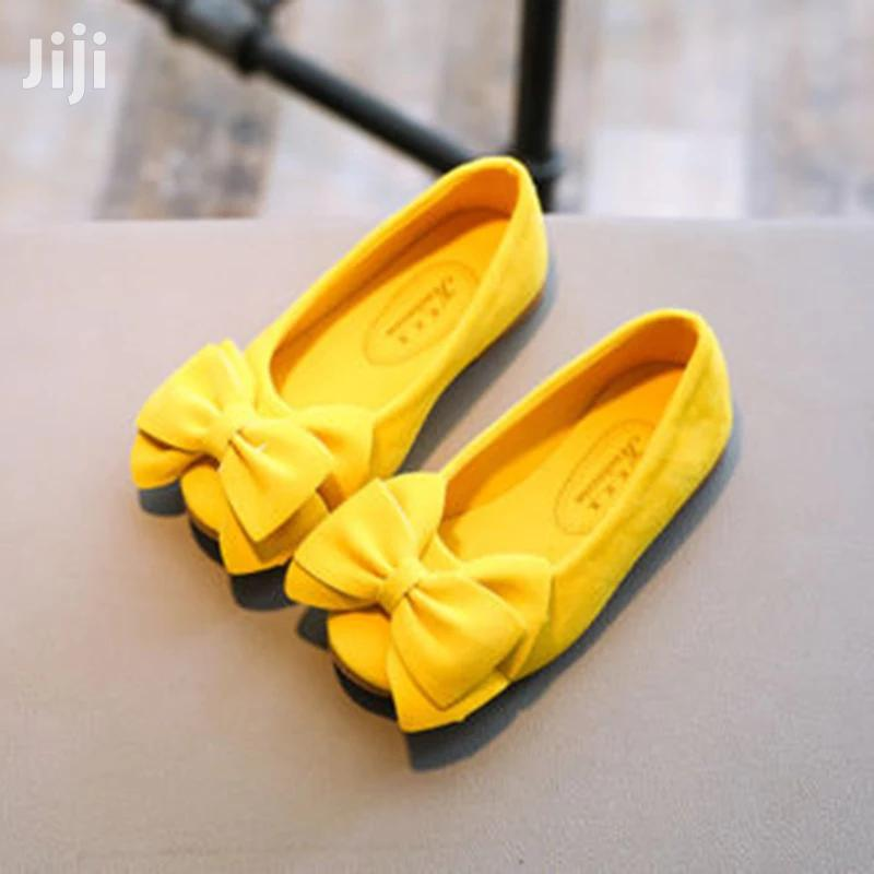 Archive: Yellow Baby Girl Shoes