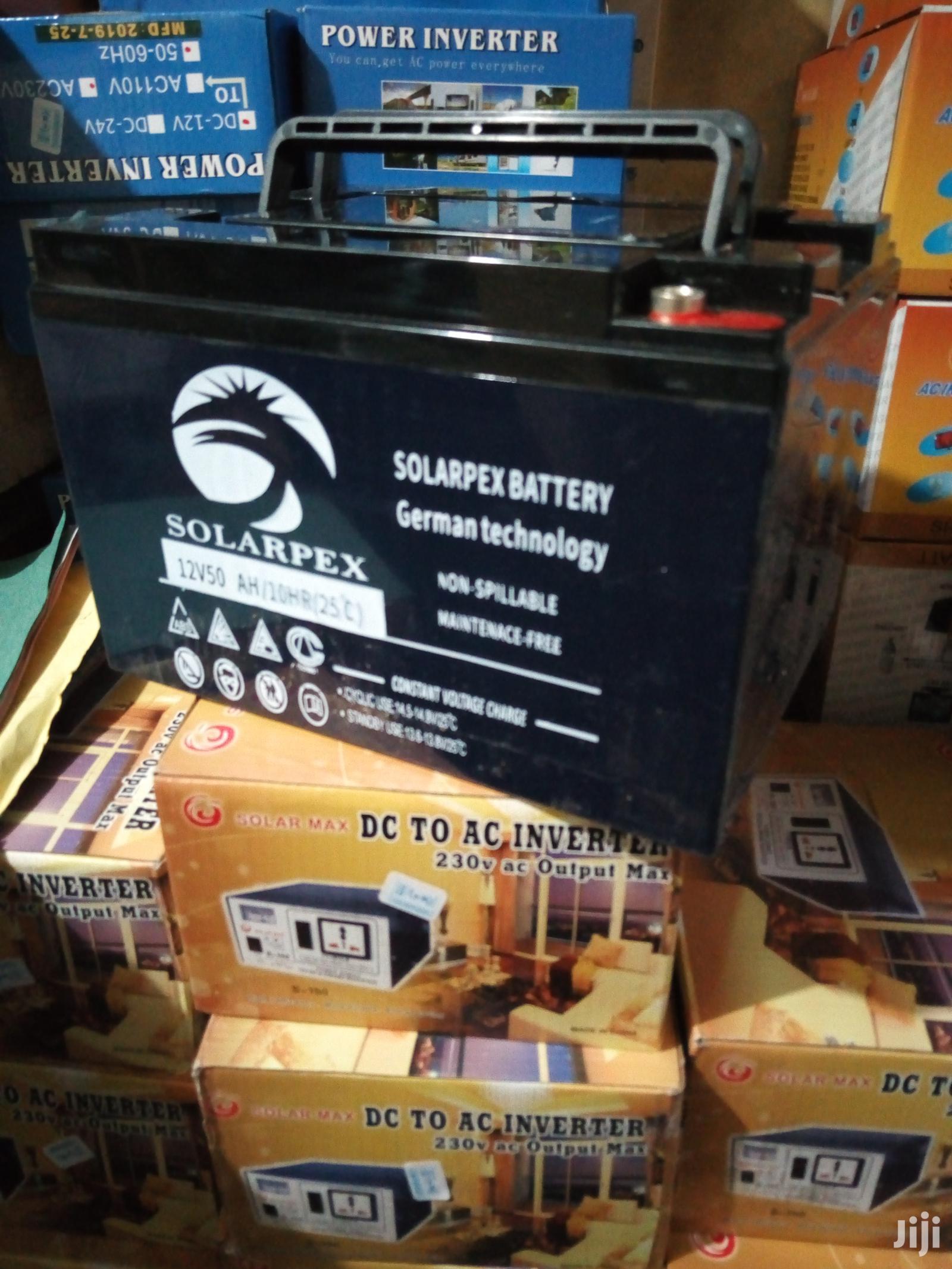 Archive: 50ah Solarpex Solar Gel Battery
