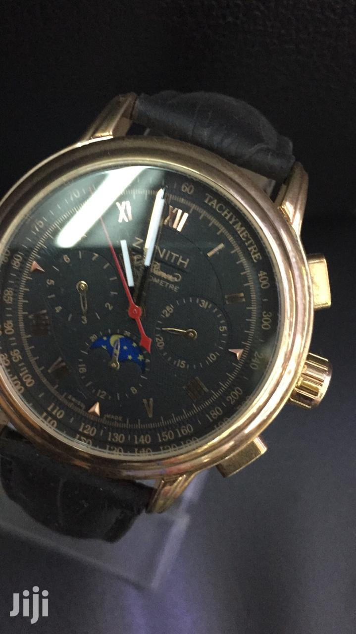 Mechanical Zenith Quality Timepiece for Men's