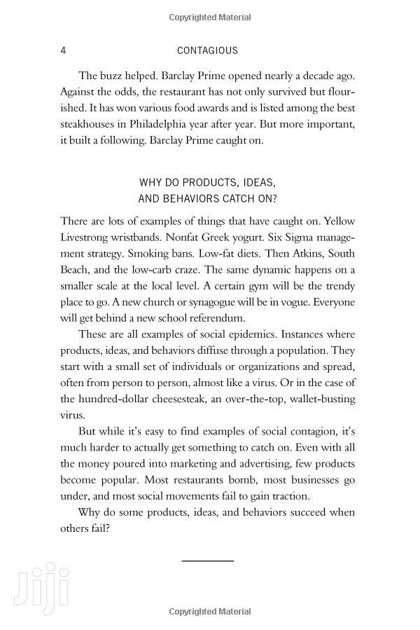 Archive: Ebooks Contagious For Motivation Succeeding In Business Entrepreneurs