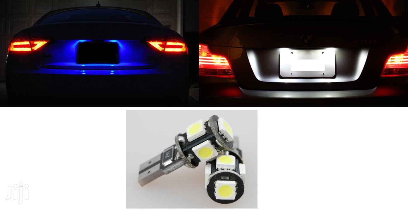 White/Blue Number Plate LED Bulbs: For Toyota,Subaru,Nissan,Mazda,Vw