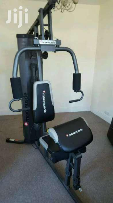 Archive: Commercial Multi Station Home Gym