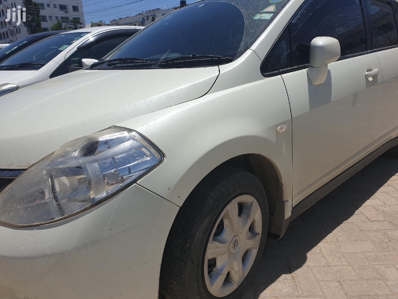 Nissan Tiida 2012 White