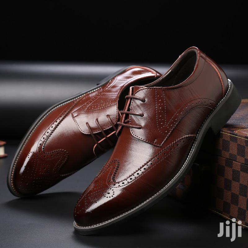 Men Official Leather Oxfords