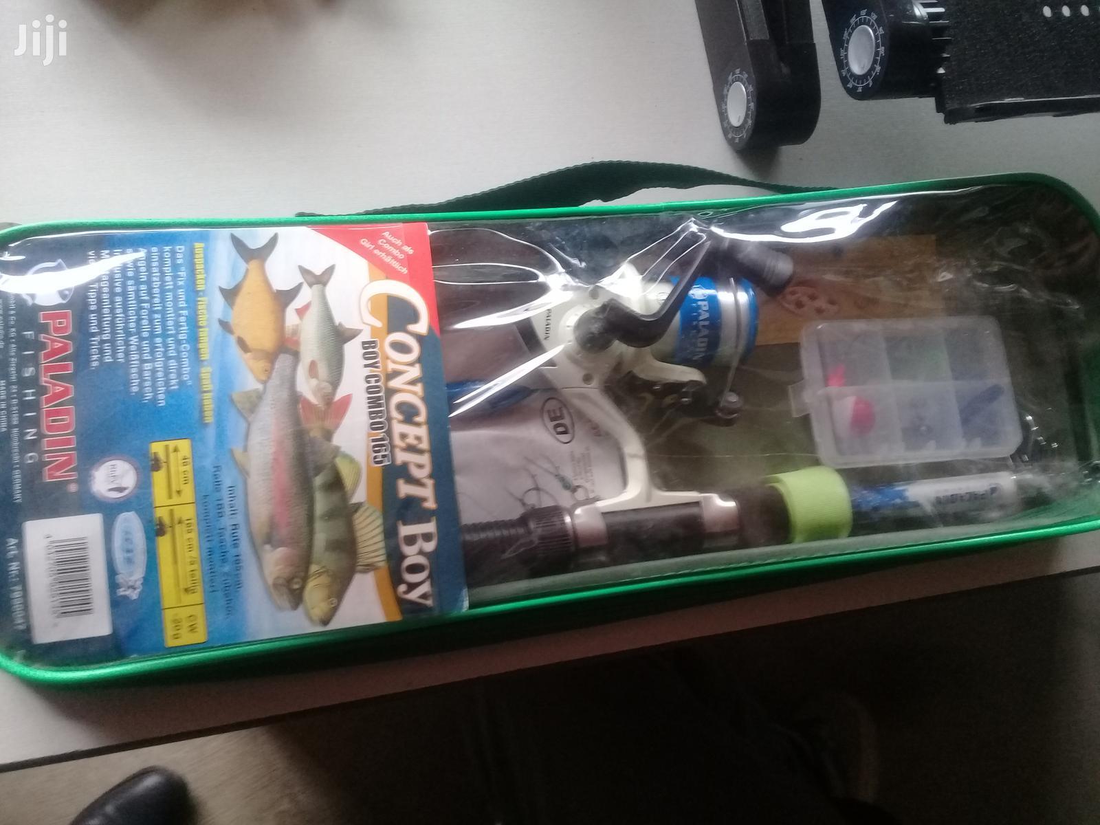 Paladin Fishing Rod And Reel