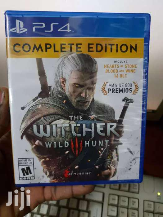 The Witcher Game Of The Year