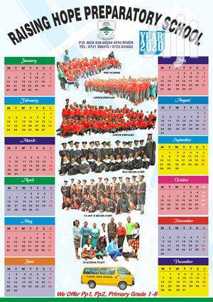 Calendar Design And Print