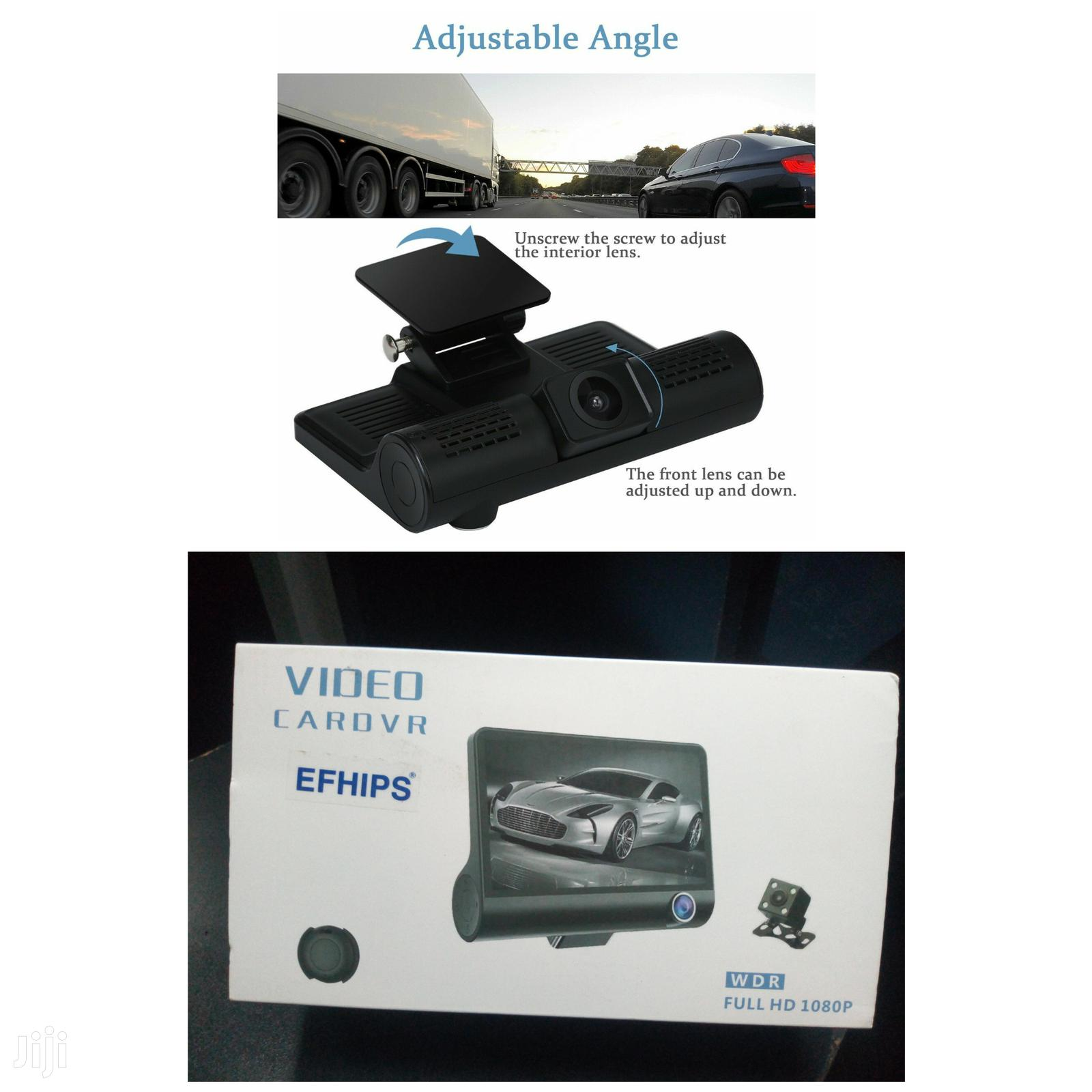 Archive: Car Camera Full Hd DVR Dash Cam With 3 Cameras Lens Video Recorder