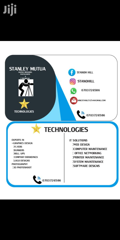 Graphic Designer,Web Designer & IT Technician   Computing & IT CVs for sale in Airbase, Nairobi, Kenya
