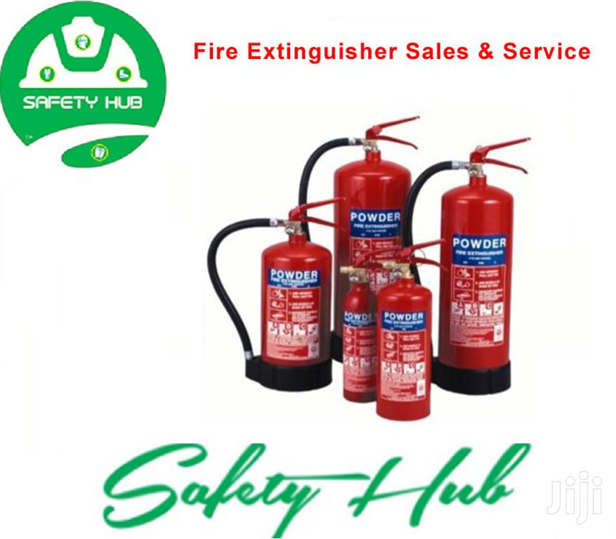 Fire Extinguishers ( New)