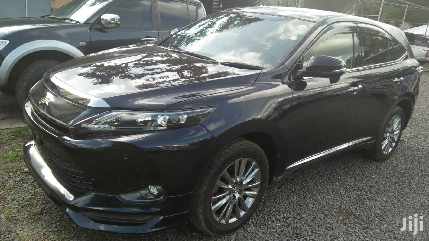 Toyota Harrier 2015 Black