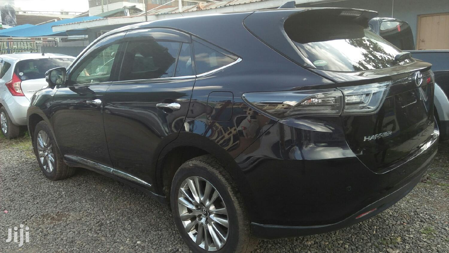 Toyota Harrier 2015 Black | Cars for sale in Nairobi Central, Nairobi, Kenya