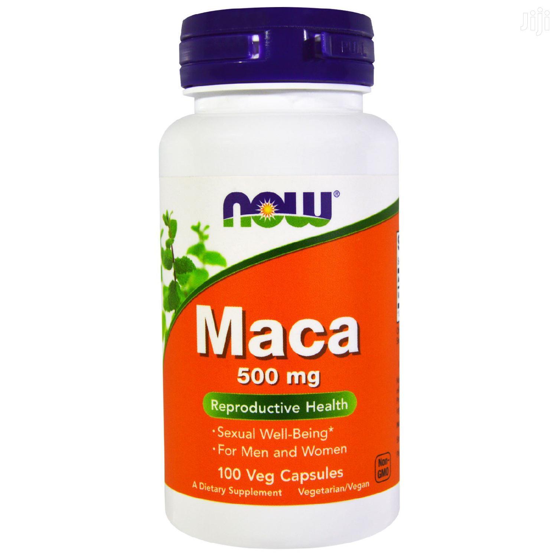 Maca Pills