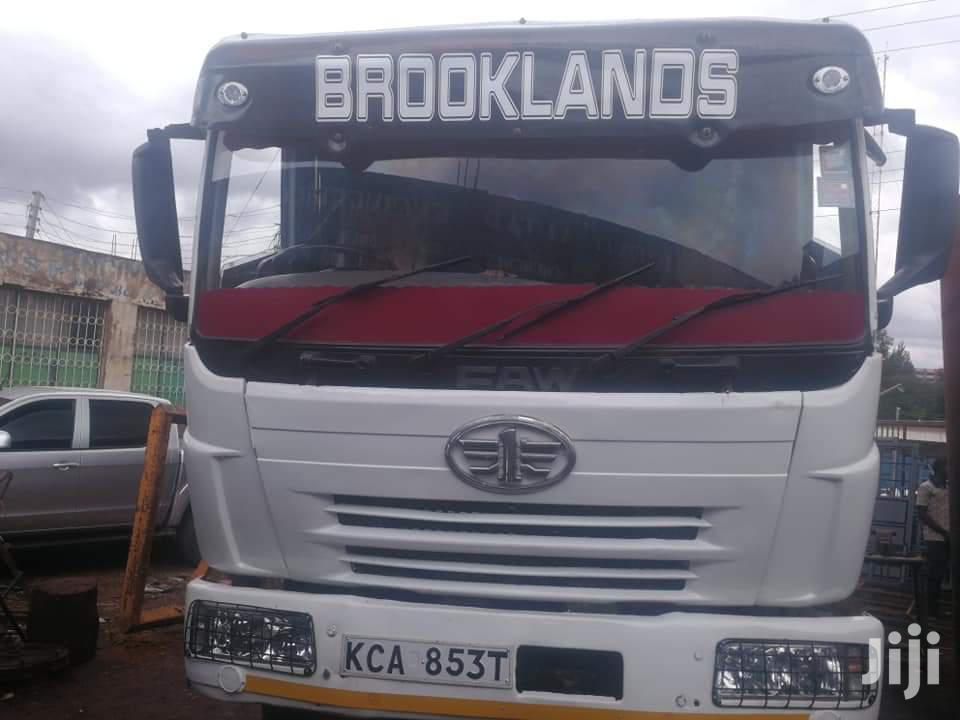 Faw Tipper J380 2014 White   Trucks & Trailers for sale in Eldoret CBD, Uasin Gishu, Kenya