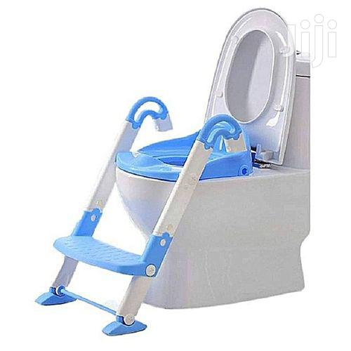 Kids Toilet Potty Trainer Seat Step Up Training Stool Chair